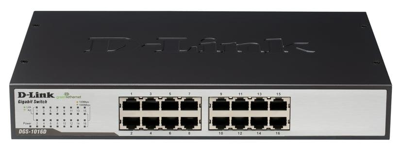 D-Link DGS-1016D 16-Port Gigabit Desktop Switch