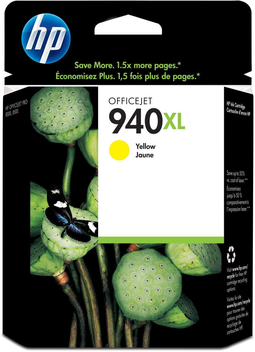 HP Muste Keltainen No.940XL