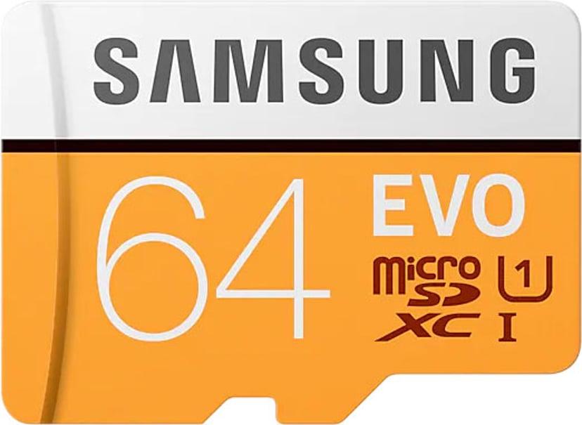 Samsung EVO 64GB microSDXC UHS-I Memory Card