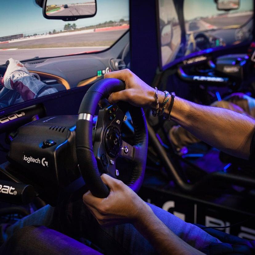 Logitech G920 Driving Force Svart