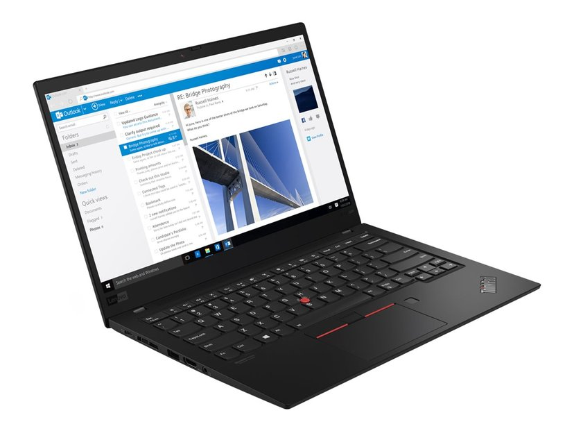 "Lenovo ThinkPad X1 Carbon G7 Core i5 16GB 256GB SSD WWAN-uppgraderbar 14"""