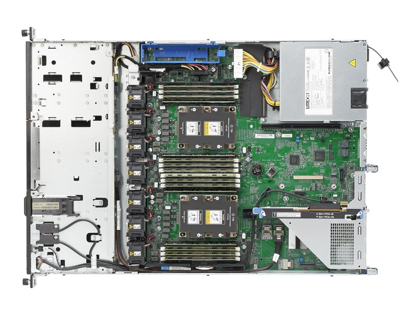 HPE ProLiant DL160 Gen10 - extra minne & hårddisk Xeon Bronze Med 8 kärnor 32GB
