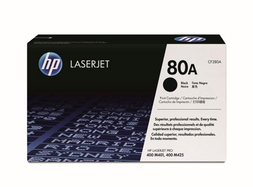 HP Toner Sort 80A 2.7K - CF280A