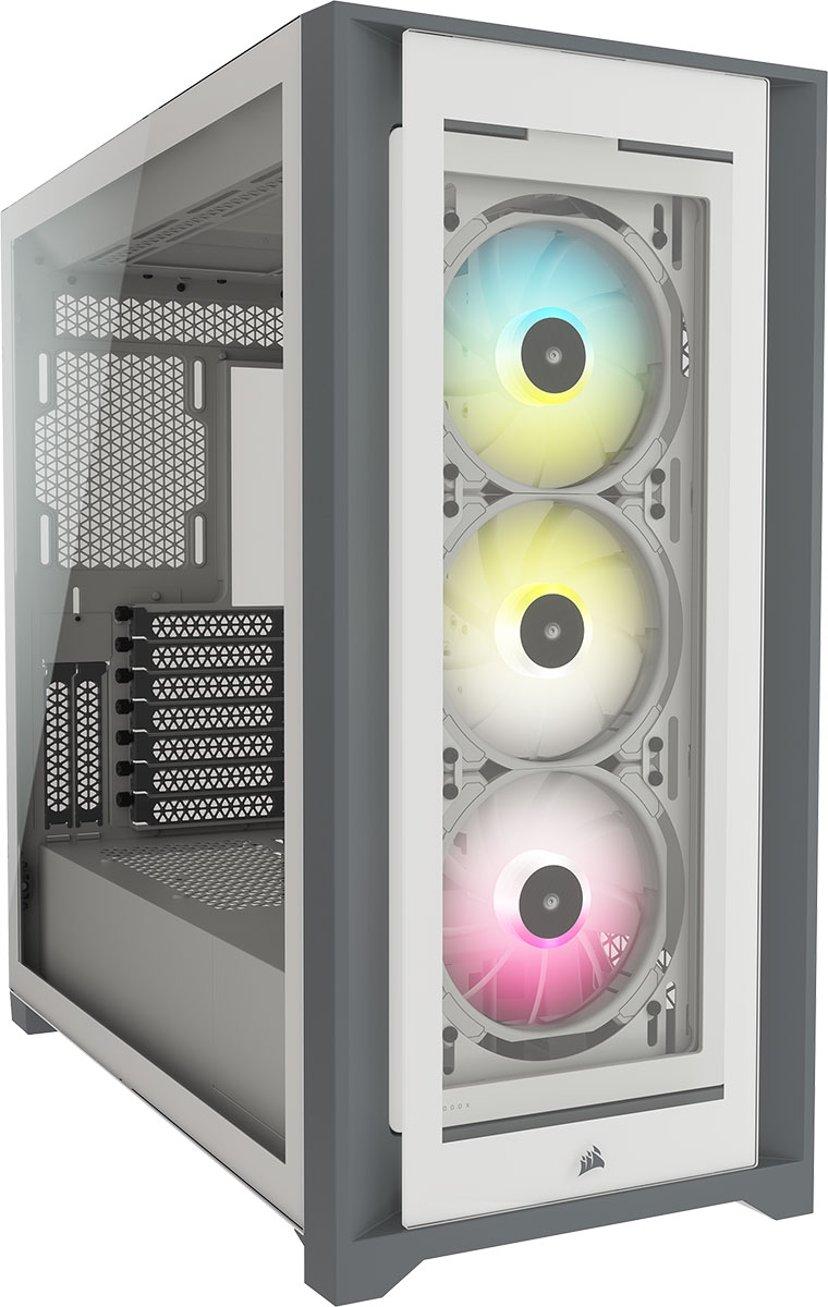 Corsair iCUE 5000X RGB Hvit