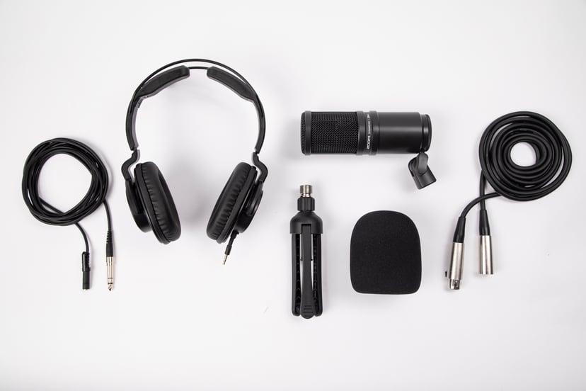 Zoom ZDM-1 Podcast Mic Pack Svart