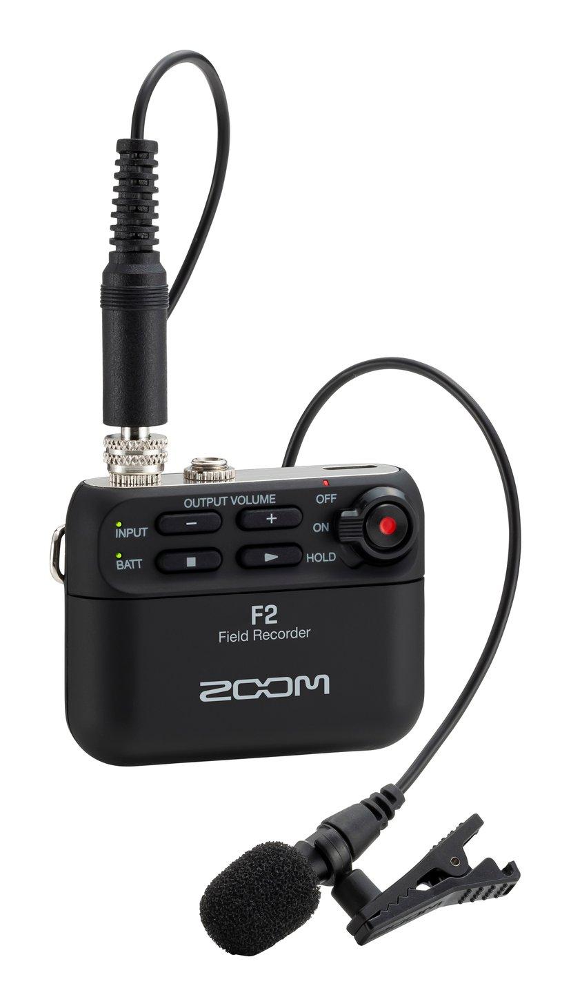 Zoom F2 Field Recorder Svart
