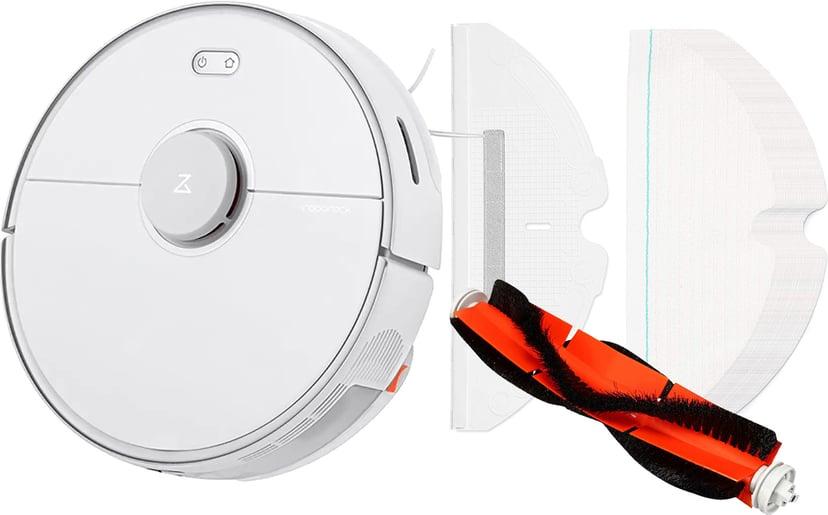 Roborock S5 Max Vit företagspaket med tillbehör på köpet