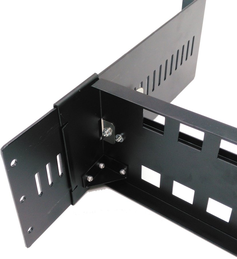 "Direktronik Rackmonterad DIN-skena 19"""