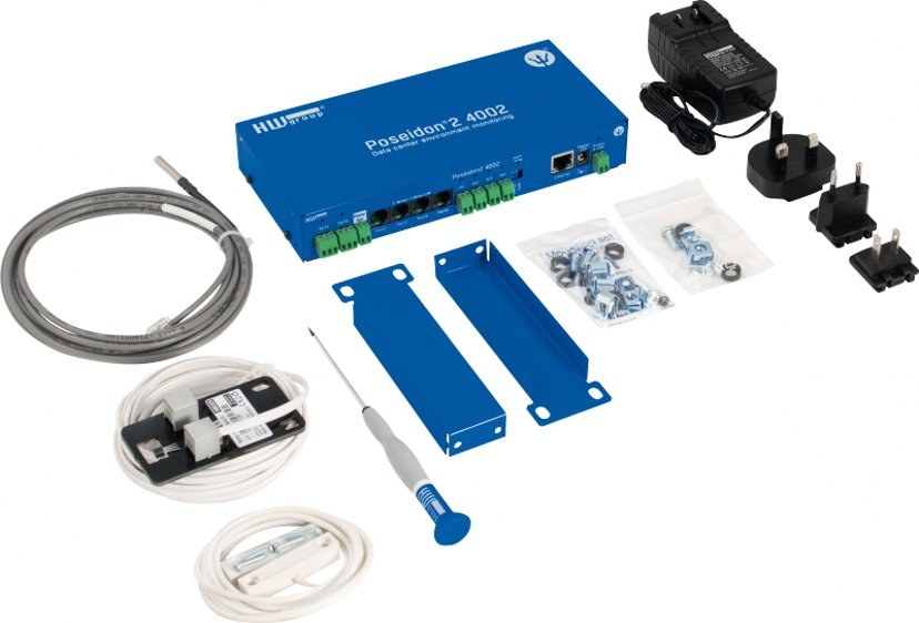 "HW-Group Poseidon2 4002 Temperature Monitoring Set 19"""