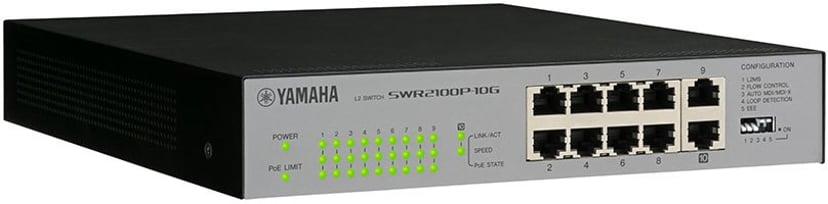 Yamaha SWR2100P-10G PoE 30W Network Switch