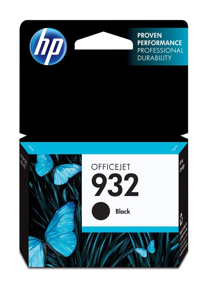 HP Muste Musta 932 - OfficeJet 6100/6700 Premium