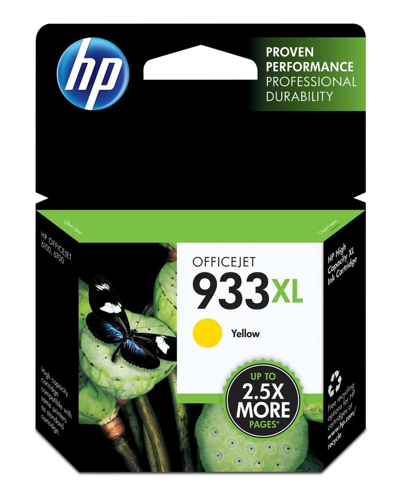 HP Blekk Gul 933XL - OfficeJet 6100/6600/6700 Premium