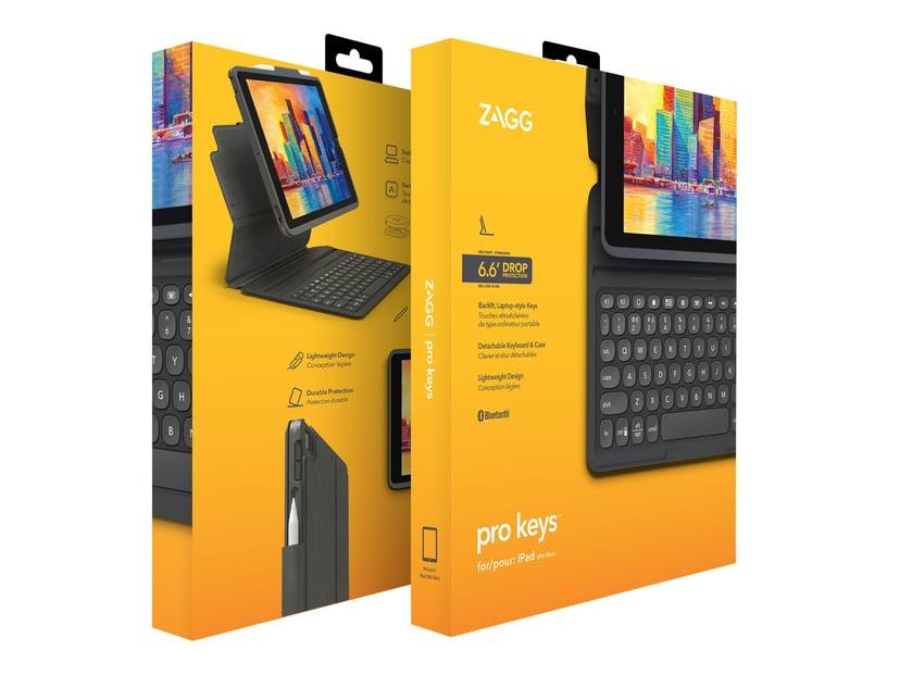 Zagg Keyboard Pro Keys Apple iPad 10.2' Nordic