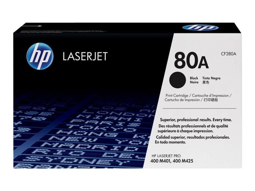 HP Toner Svart 80A 2.7K - CF280A
