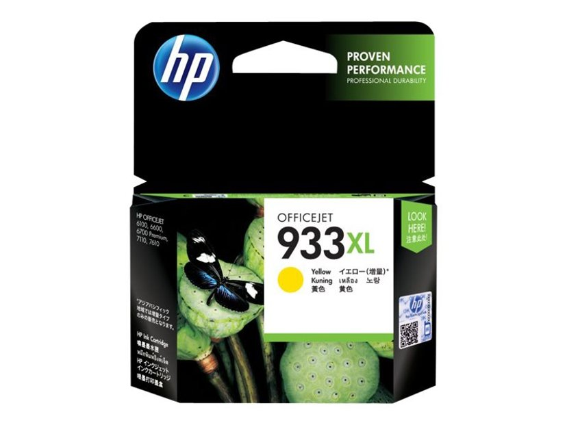 HP Blæk Gul 933XL - OfficeJet 6100/6600/6700 Premium