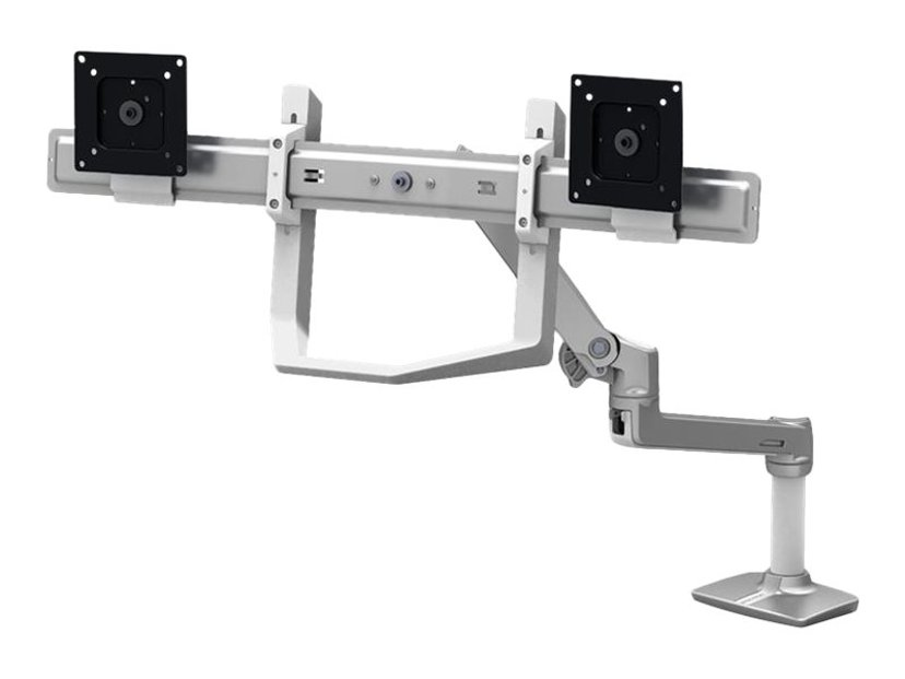 Ergotron Handle Dual Direct Kit Hvid