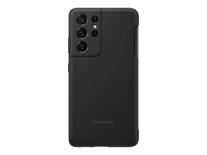 Samsung Silicone Cover EF-PG99P Samsung Galaxy S21 Ultra Musta