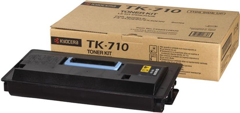 Kyocera Värikasetti Musta 20k TK-710