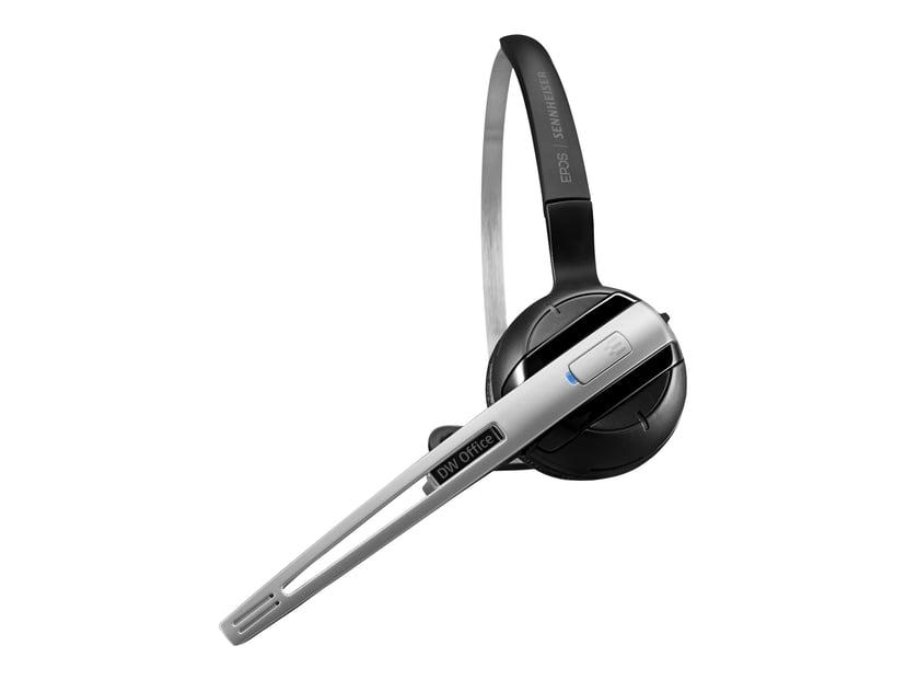 EPOS | SENNHEISER IMPACT DW OFFICE Headset Only Sort; Sølv