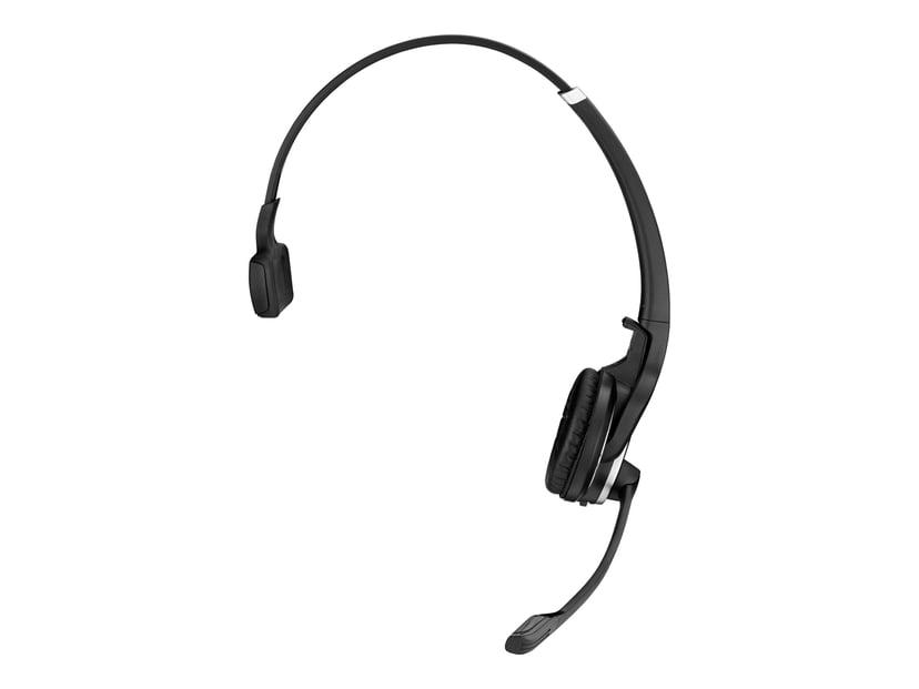 EPOS   SENNHEISER IMPACT DW PRO1 Headset Only Silver; Svart