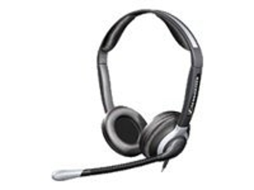EPOS | SENNHEISER CC550 Headset Easy Disconnect Silver, Svart