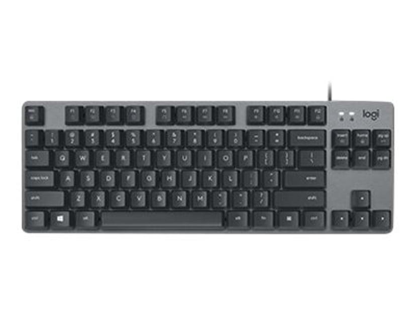 Logitech K835 Tkl Mechanical Keyboard Graphite/Grey Kabelansluten Tangentbord Nordisk Grå