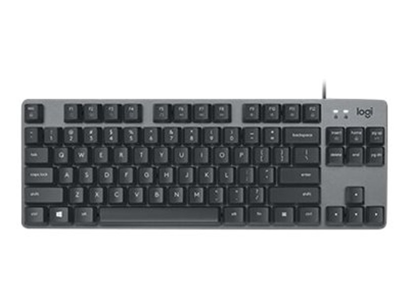 Logitech K835 Tkl Mechanical Keyboard Graphite/Grey Kabling Tastatur Grå