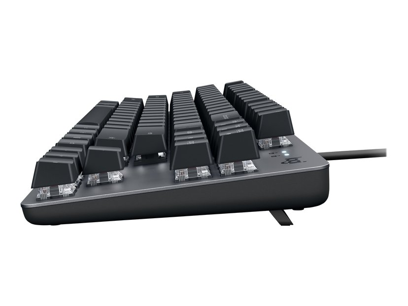 Logitech K835 Tkl Mechanical Keyboard Graphite/Grey Tangentbord Kabelansluten Nordisk Grå