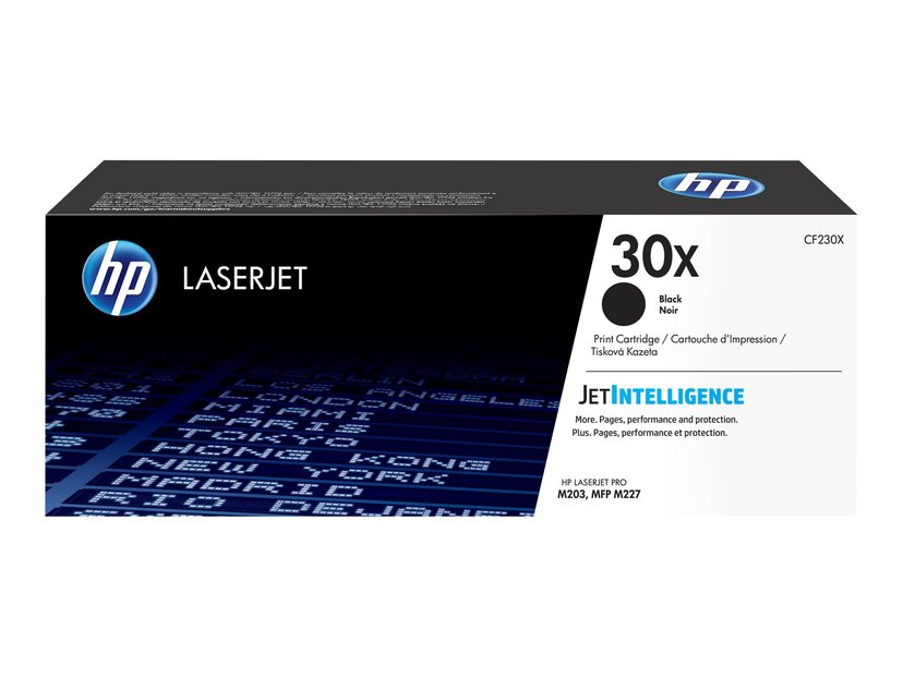 HP Toner Zwart 30X 3.5K - CF230X #Köp