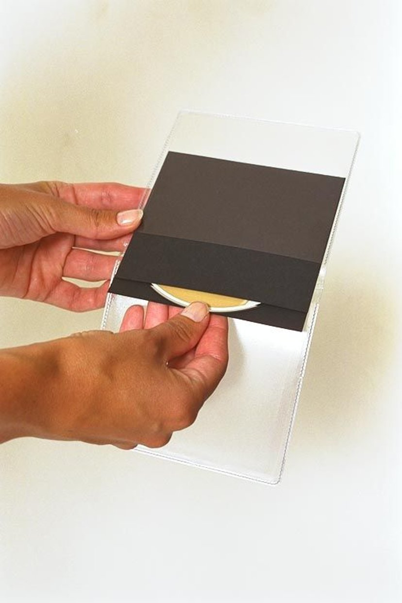 Sidewalk CD Pouch Dubble With Long Back Pocket 100-Pcs
