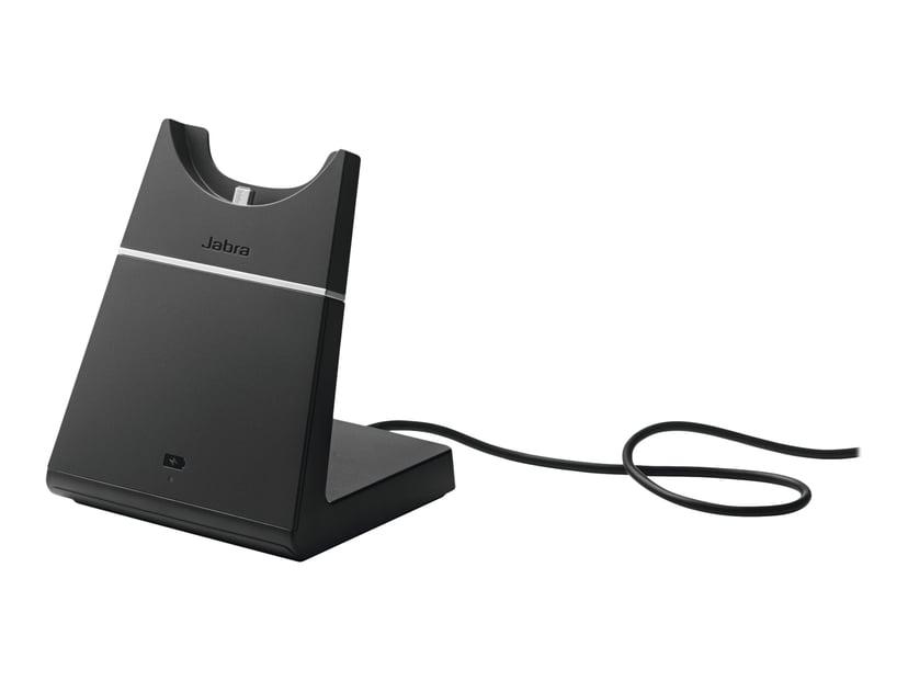 Jabra Evolve 75 Stereo MS Headset (inkl. ladestativ) Svart