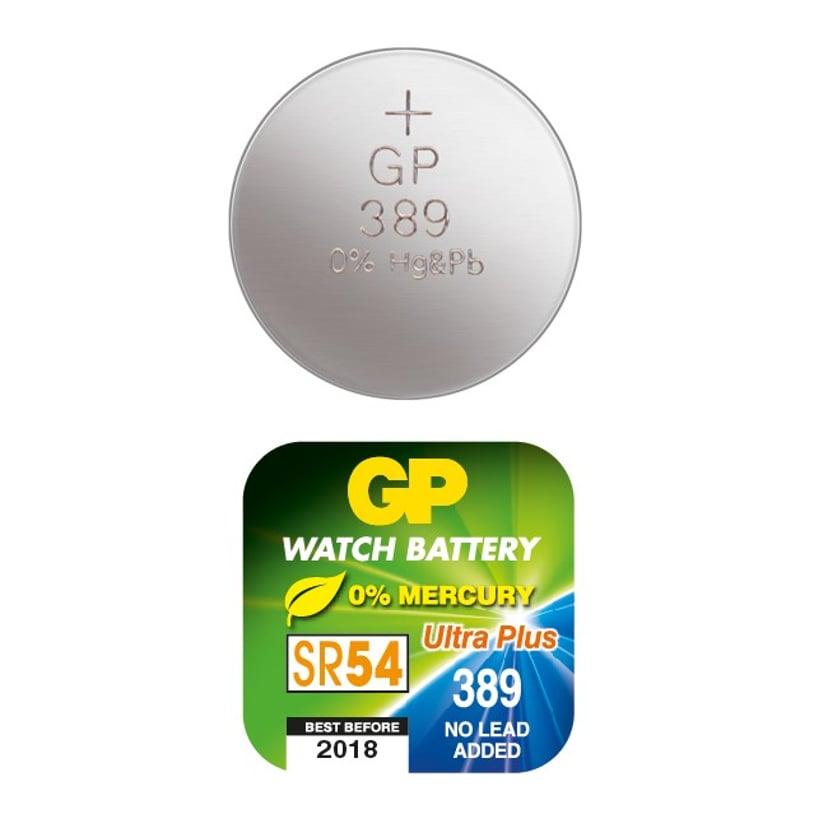 GP Knappecellebatteri Sølvoksid SR54/389