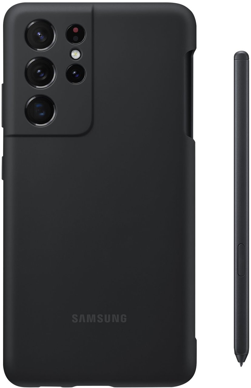 Samsung Silicone Cover EF-PG99P Samsung Galaxy S21 Ultra Sort