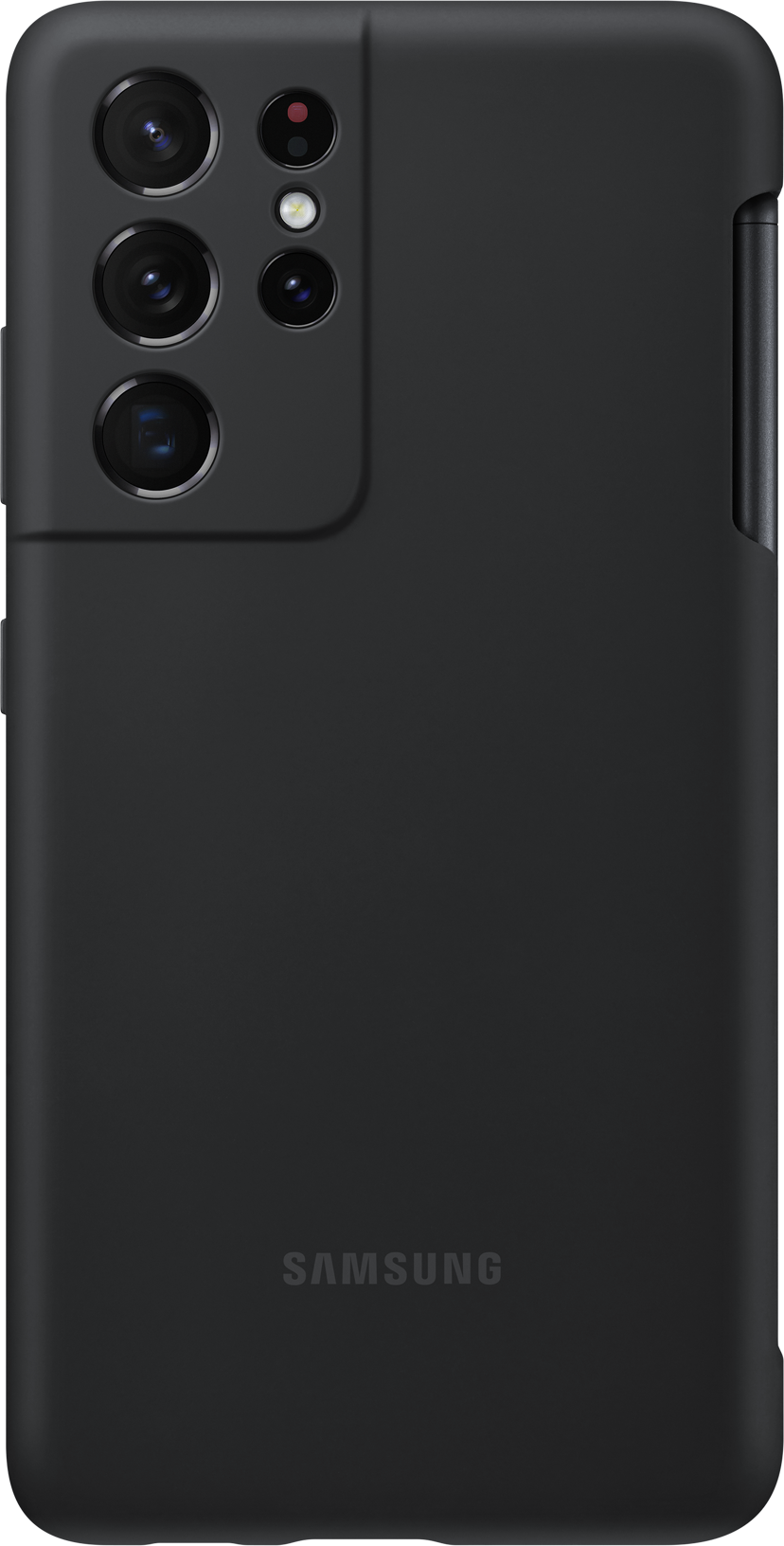 Samsung Silicone Cover EF-PG99P Musta Samsung Galaxy S21 Ultra