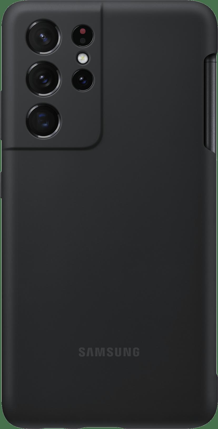 Samsung Silicone Cover EF-PG99P Samsung Galaxy S21 Ultra Svart