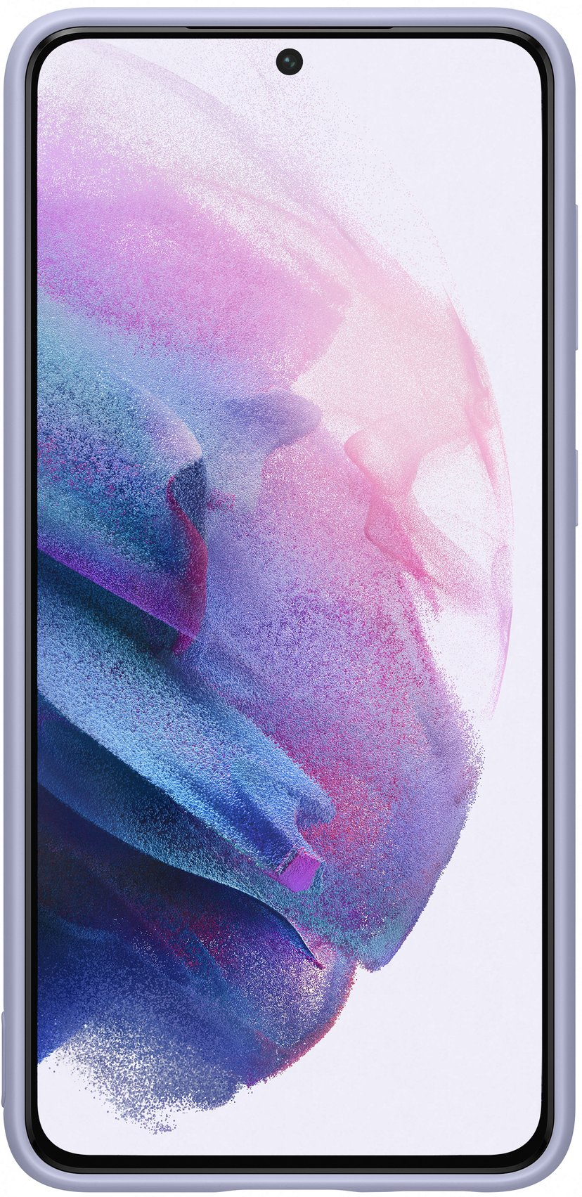 Samsung Silicone Cover EF-PG991 Samsung Galaxy S21 Fiolett
