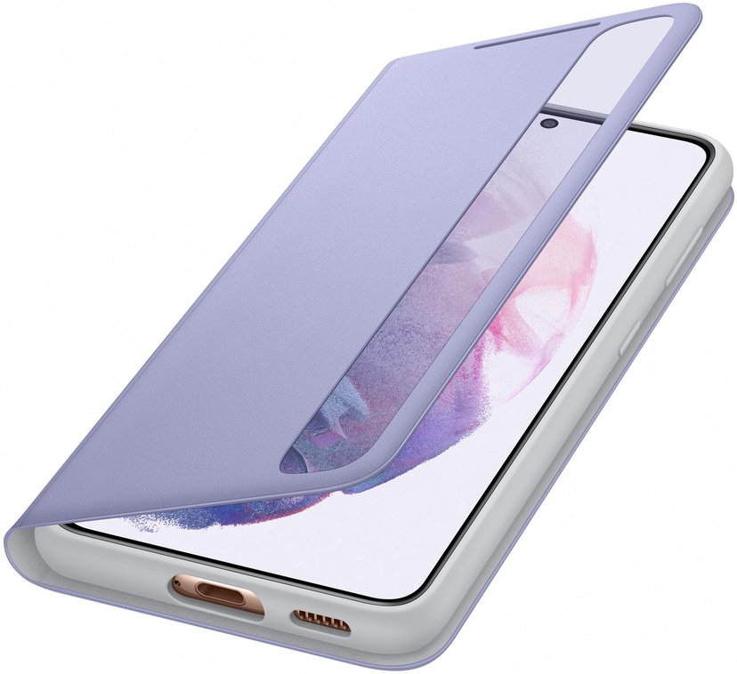 Samsung Smart Clear View Cover EF-ZG991 Samsung Galaxy S21 Violett