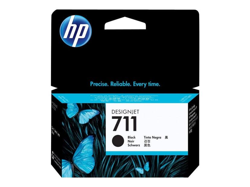 HP Bläck Svart 711, 38ml - DJ T120 #Köp