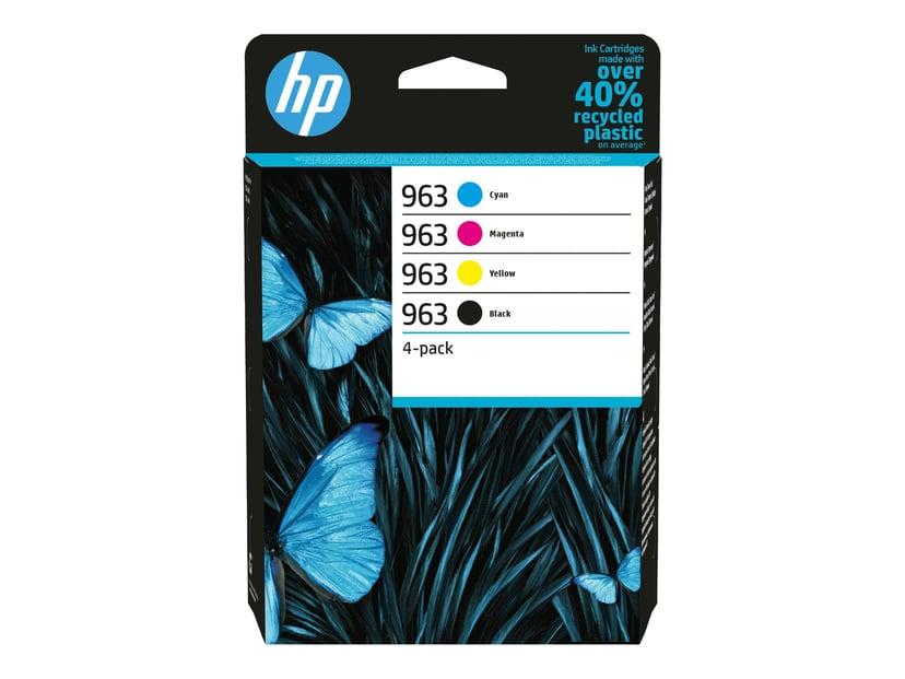 HP Ink (C/M/Y/K) 963 4-Pack