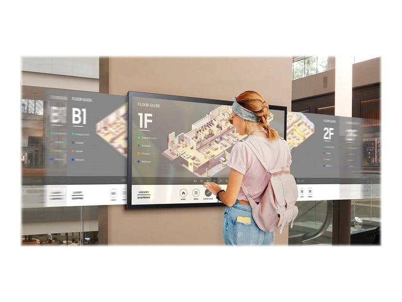 "Samsung QM55R-T 55"" FHD 16:9 WiFi Touch Mediaspelare Högtalare 55"" 400cd/m² 4K UHD (2160p) 16:9"