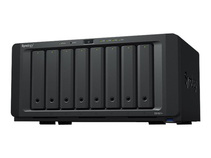 Synology DS1821+ 0TB NAS-server