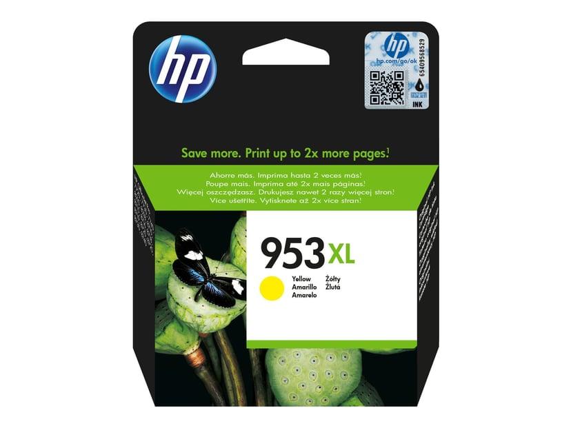 HP Blæk Gul 953XL - OfficeJet Pro 8710/8720/8730/8740
