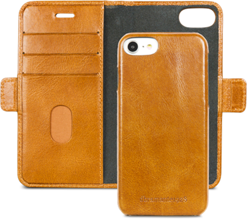 dbramante1928 Lynge Flipfutteral for Mobiltelefon iPhone 6/6s, iPhone 7, iPhone 8, iPhone SE (2020) Gyllenbrun
