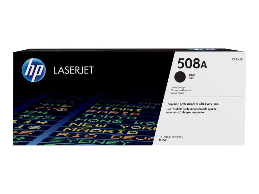 HP Toner Svart 508A 6K - CF360A
