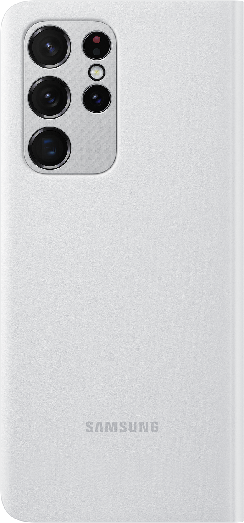 Samsung Smart Clear View Cover EF-ZG998 Samsung Galaxy S21 Ultra Grå
