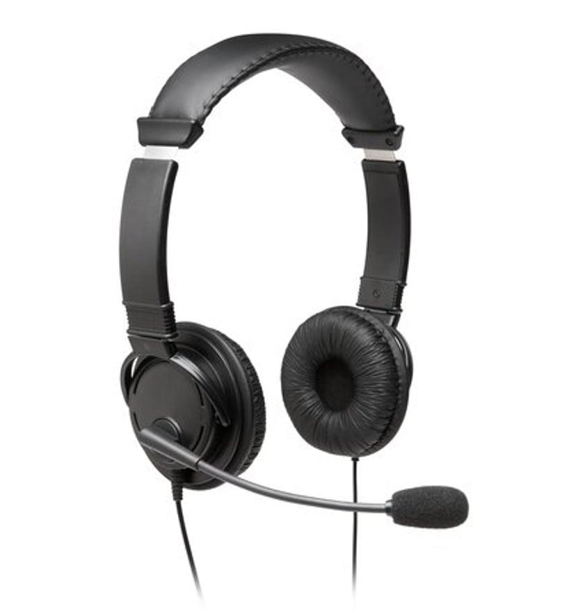 Kensington USB-A Hi-Fi Headphones with Mic Svart
