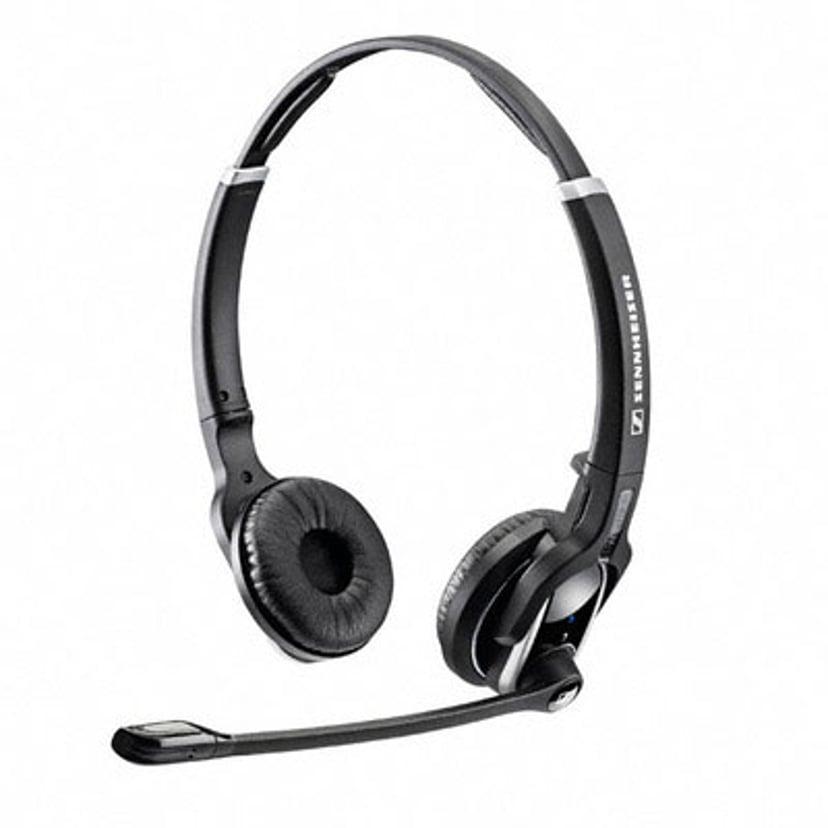 EPOS | SENNHEISER IMPACT DW PRO2 Headset Only Silver, Svart