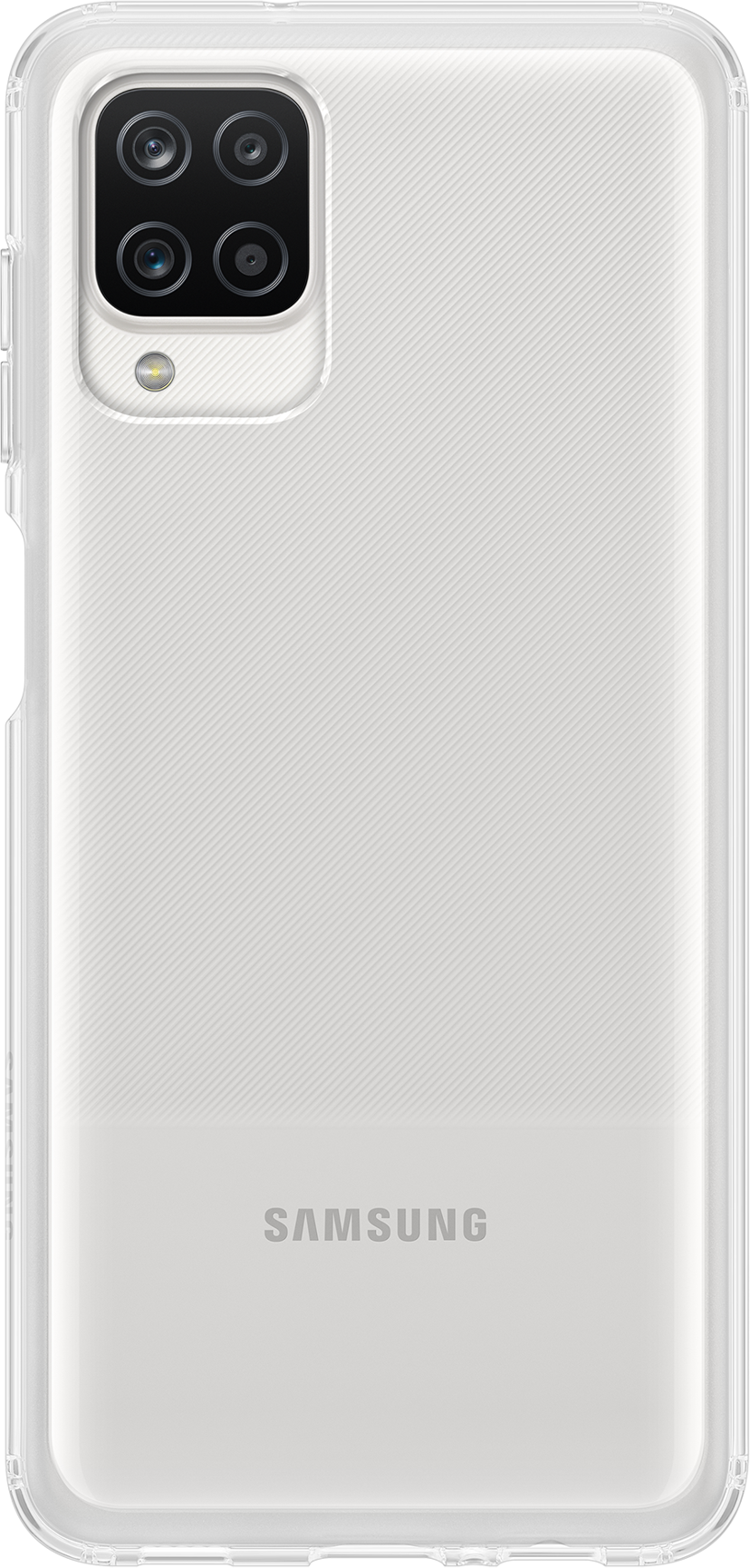Samsung Soft Clear Cover EF-QA125 Samsung Galaxy A12 Gennemsigtig