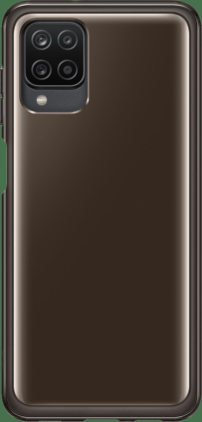 Samsung Soft Clear Cover EF-QA125 Samsung Galaxy A12 Svart