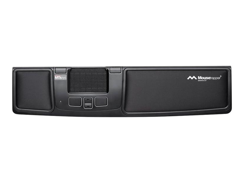 Mousetrapper Advance 2.0 2,000dpi Styrmatta Kabelansluten Svart